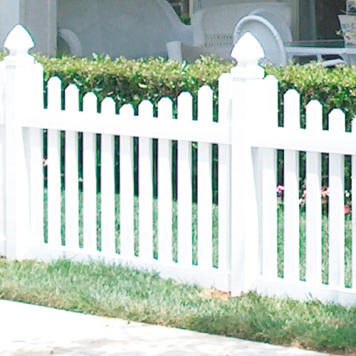 All Seasons Vinyl Fencing Products Picket Fencing